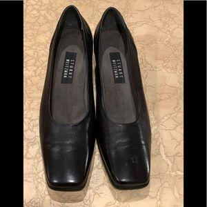 Stuart Weitzman Dark Blue Leather Heels Size W11